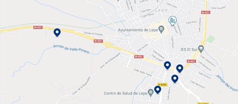 Alojamiento en Lepe – Haz clic para ver todo el alojamiento disponible en esta zona