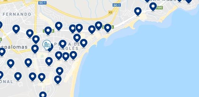 Alojamiento en Playa del Inglés – Haz clic para ver todo el alojamiento disponible en esta zona
