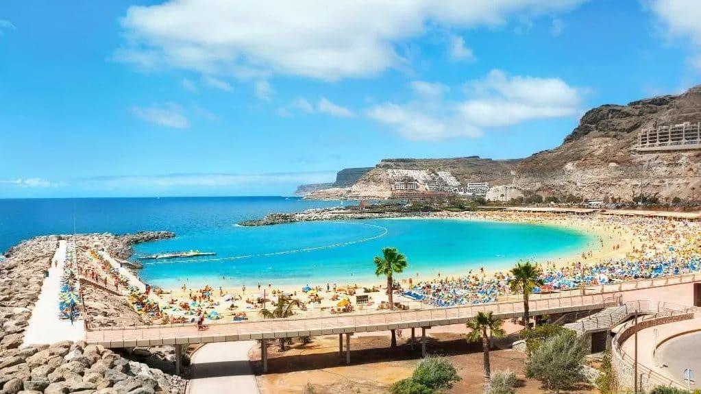 Mejores zonas de playa donde dormir en GC - Puerto Rico de Gran Canaria