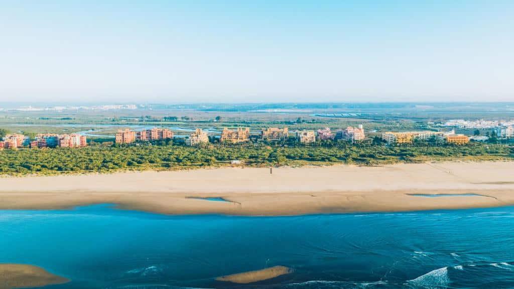 Mejores zonas donde alojarse en la Costa de la Luz de Huelva - Isla Canela