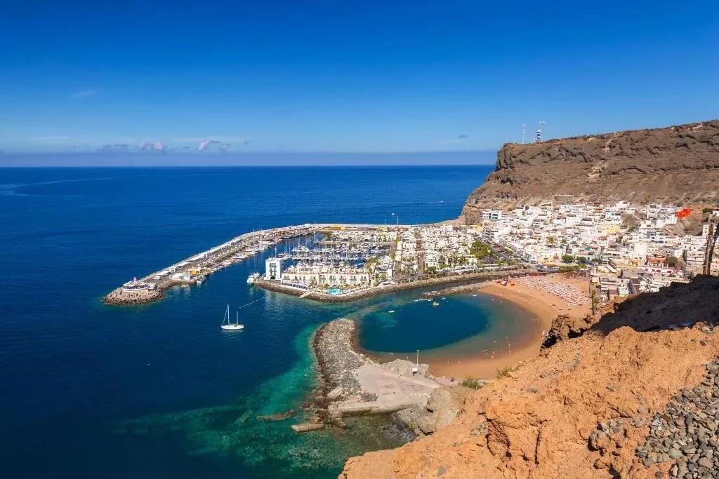 Zona tranquila donde alojarse en Gran Canaria - Puerto de Mogán