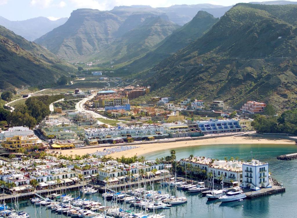Zonas de costa donde alojarse en Gran Canaria - Puerto de Mogán