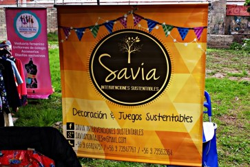 """""""Savia"""" Intervenciones Sustentables. Facebook: Savia Intervenciones Sustentables. Fonos: +56966824751, +56973947761."""