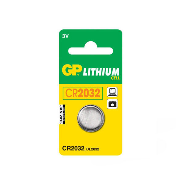 GP - CR2032 Oto Alarm Pili 3 Volt