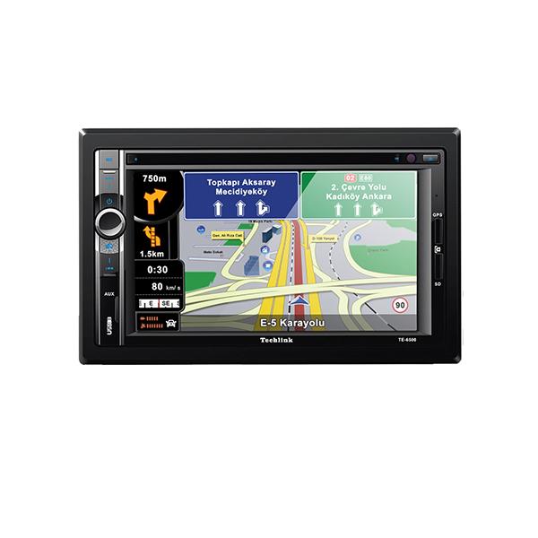 techlink-te-6500-double-din-navigasyon-dvd-tv-sd-card-usb-calar