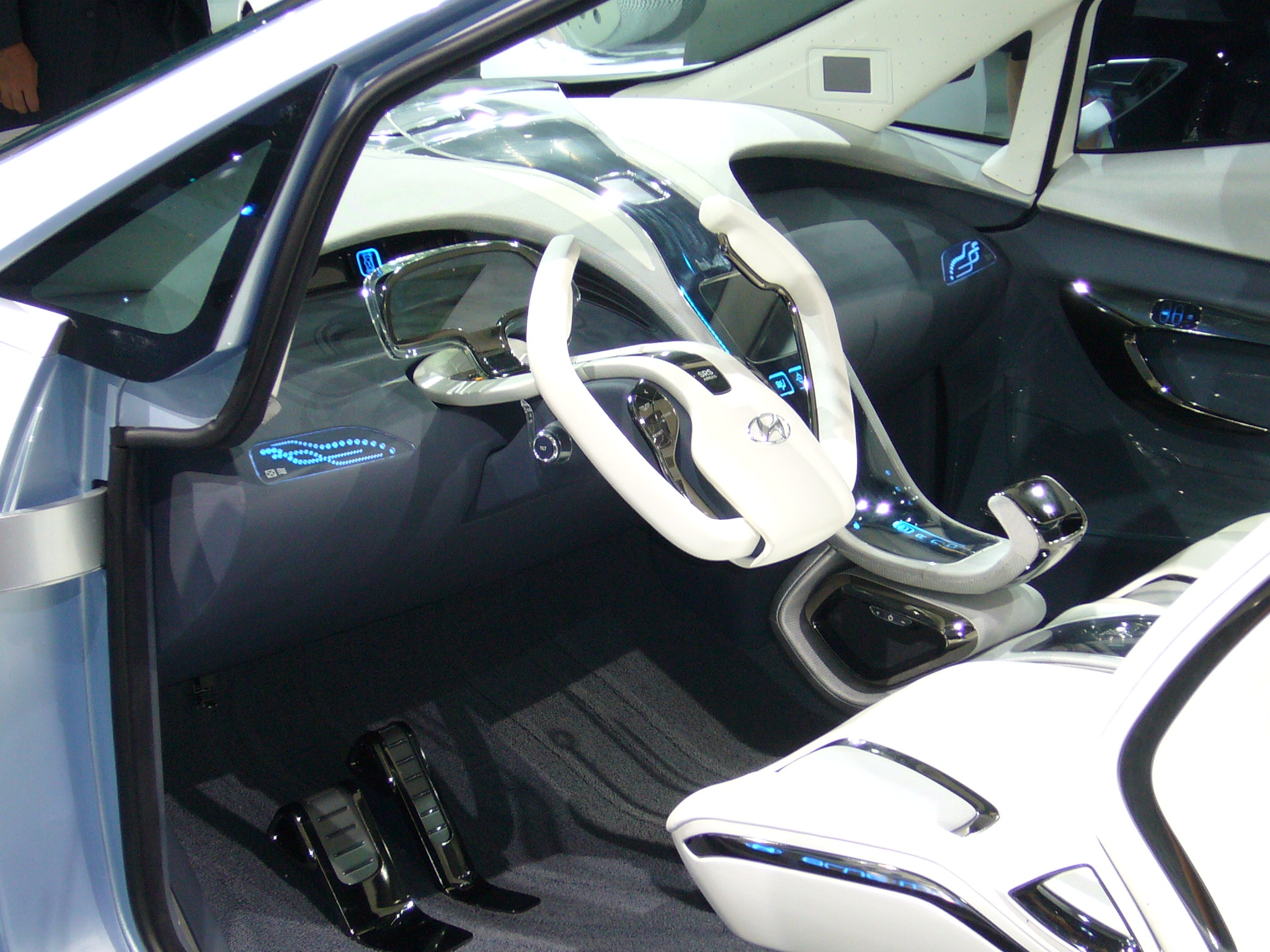 The concept car from Hyunday