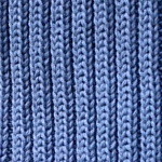 Steel blue-cotton