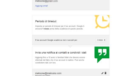 Il testamento digitale secondo Google