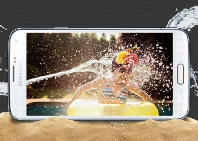 Samsung Galaxy S5 waterproof