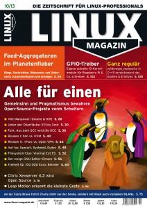 Linux Magazin Ausgabe Oktober 2013