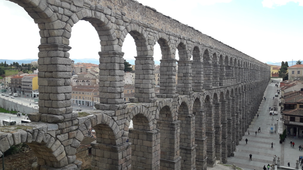 aqueduto romano Segóvia