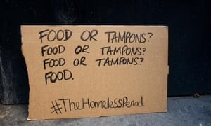 food to tampons