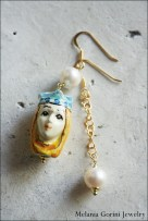 Vermeil and freshwater pearls