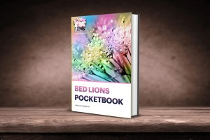 Pocket-Book-Bed Lions