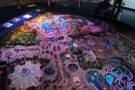 Maquette de Disneyland