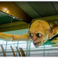Une nouvelle sculpture pour Bilbo le Hobbit - Gollum !