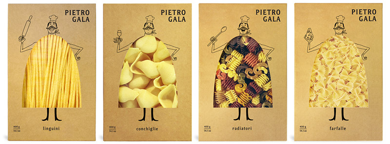 Emballage de pâtes Pietro Gala by Fresh Chicken ! (4/4)