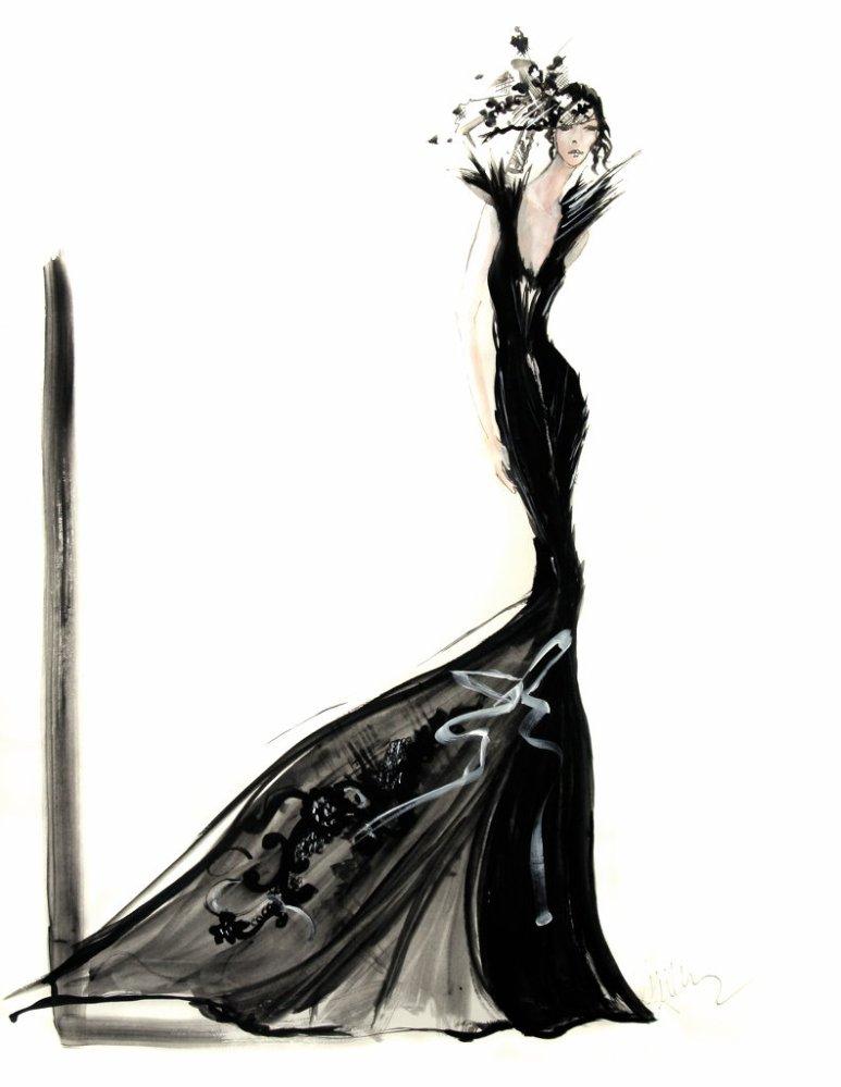 David Downton - Illustrateur de mode ! (2/6)