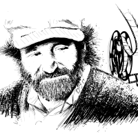 Robin Williams – Illustration