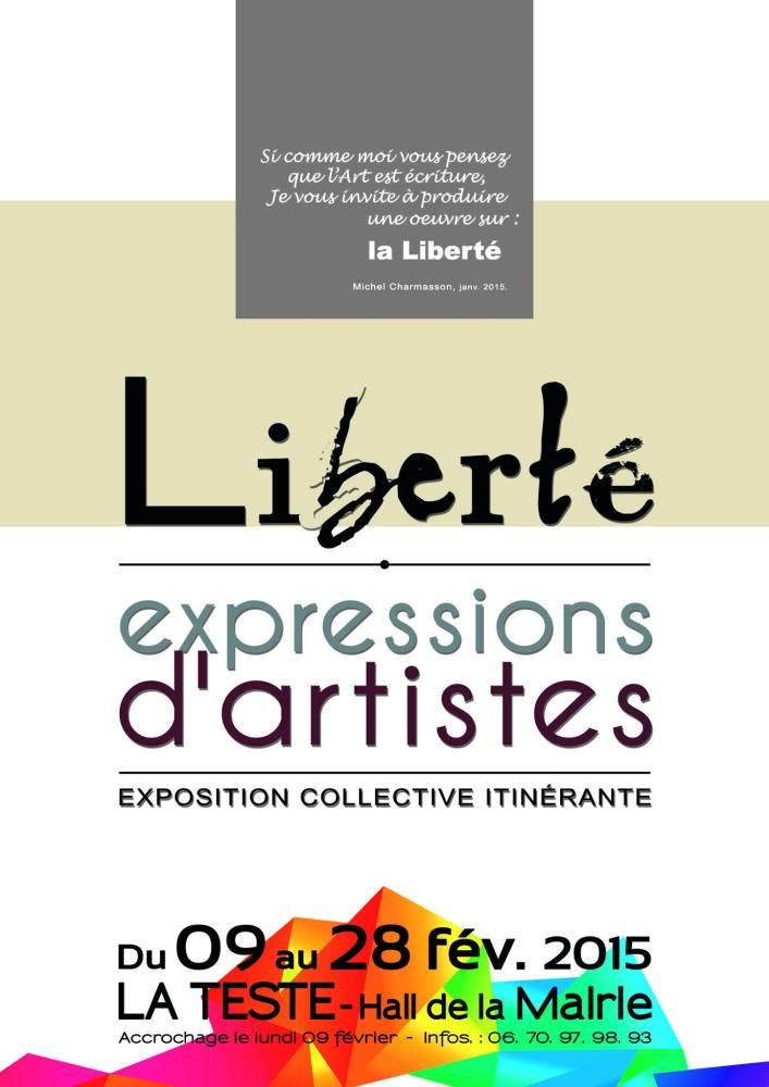 Exposition collective itinérante sur la Liberté ! (2/6)