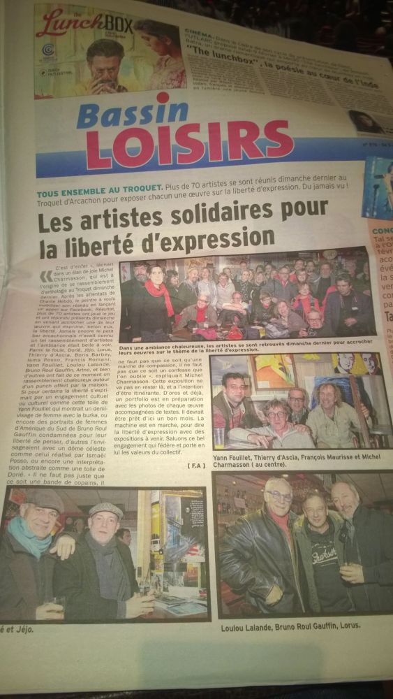 Exposition collective itinérante sur la Liberté ! (5/6)