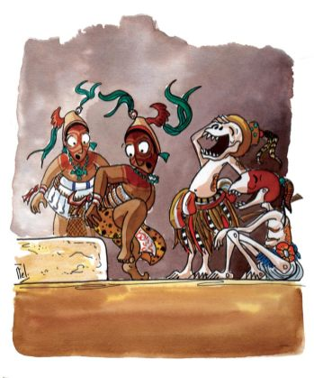 Popol Wuj - Mythes et légendes mayas