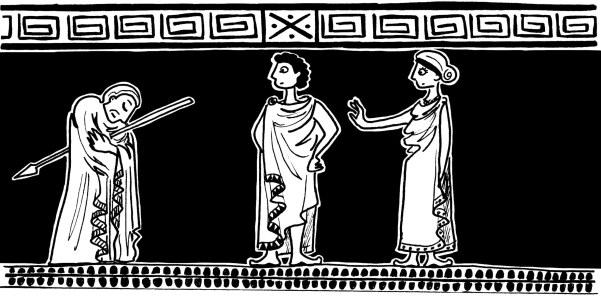 Le Portail - Histoire d'Œdipe