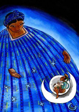 Musée du Quai Branly - Illustration pour comptine maya