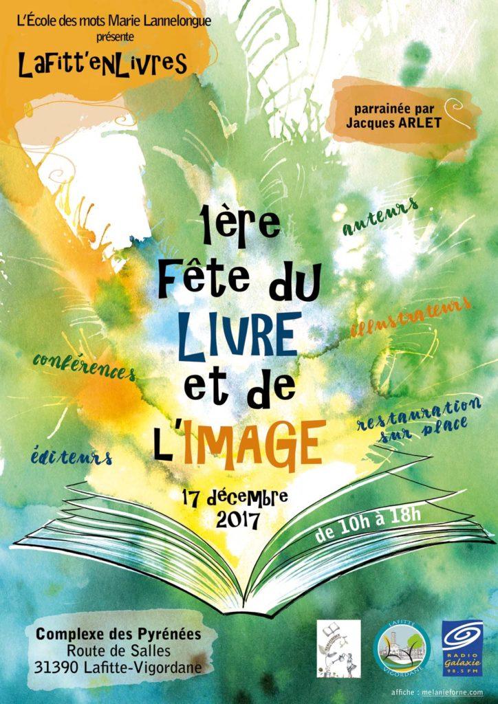 Affiche pour fête du livre