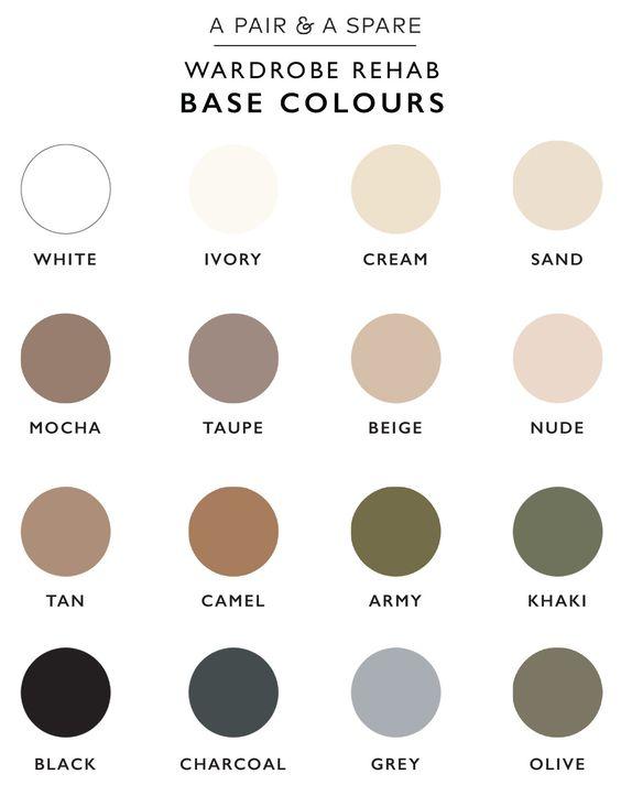 Neutral colours