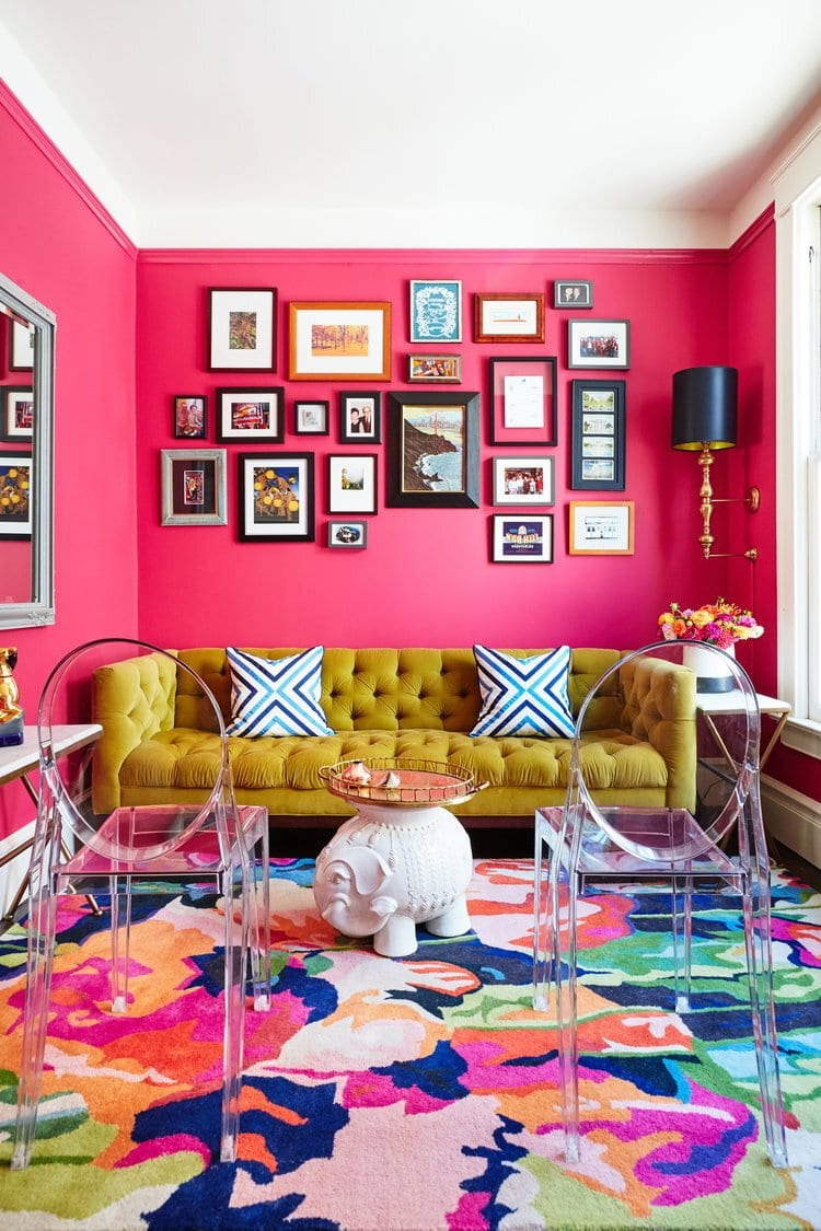 interior, interiors, interior design, interior design trends, trends, 2020, 2020 trends, rattan, faces, jewel tones, ribbed furniture, design, colours, colors, colour trends, eclectic, living room