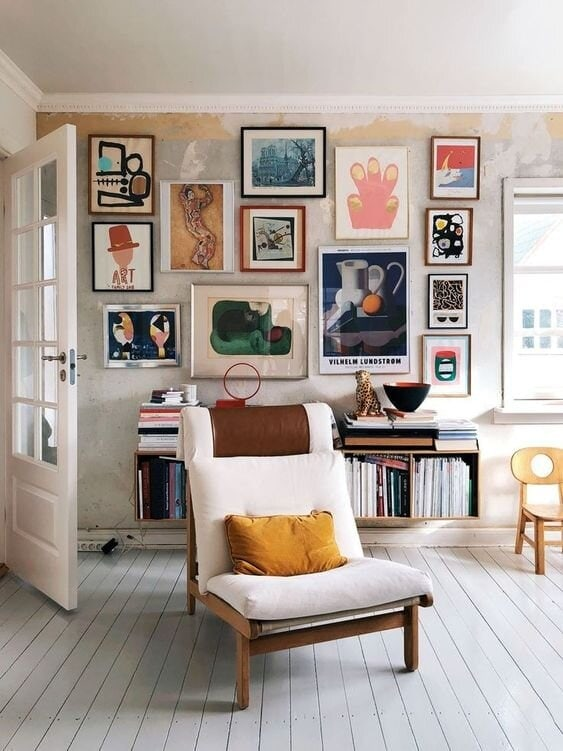 The most creative colourful abstract gallery Credit: sfgirlbybay.com