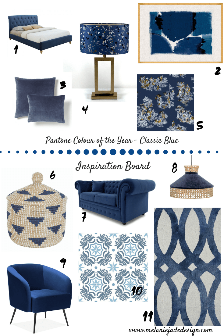 classic blue, blue, decor, pantone, coty, colour, colour of the year, trends, interior trends, colour trends, color, color trends, interior design, design, colour in the home