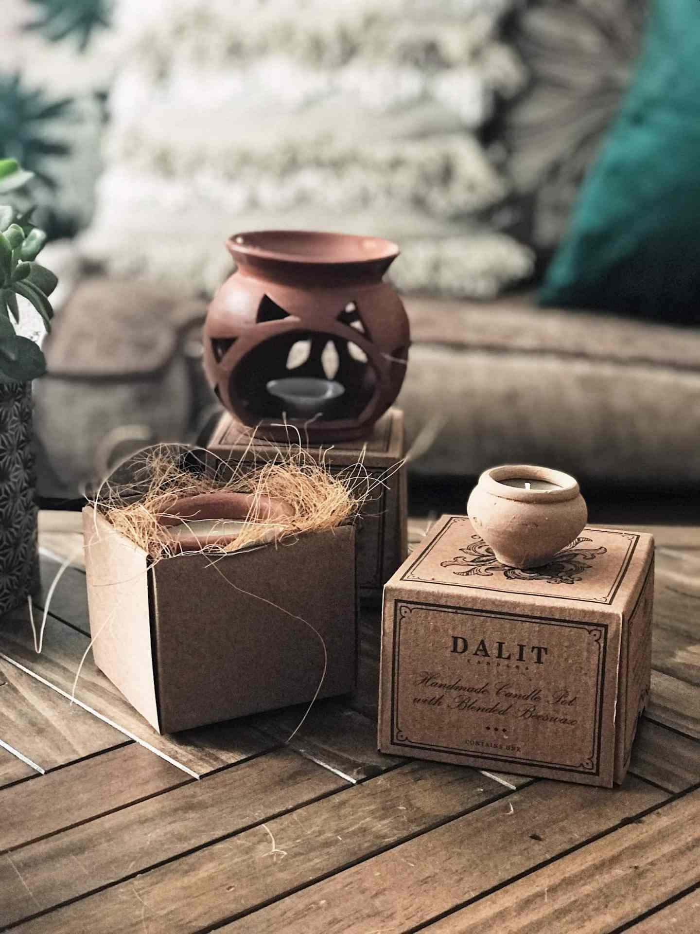 Beautiful rustic packaging