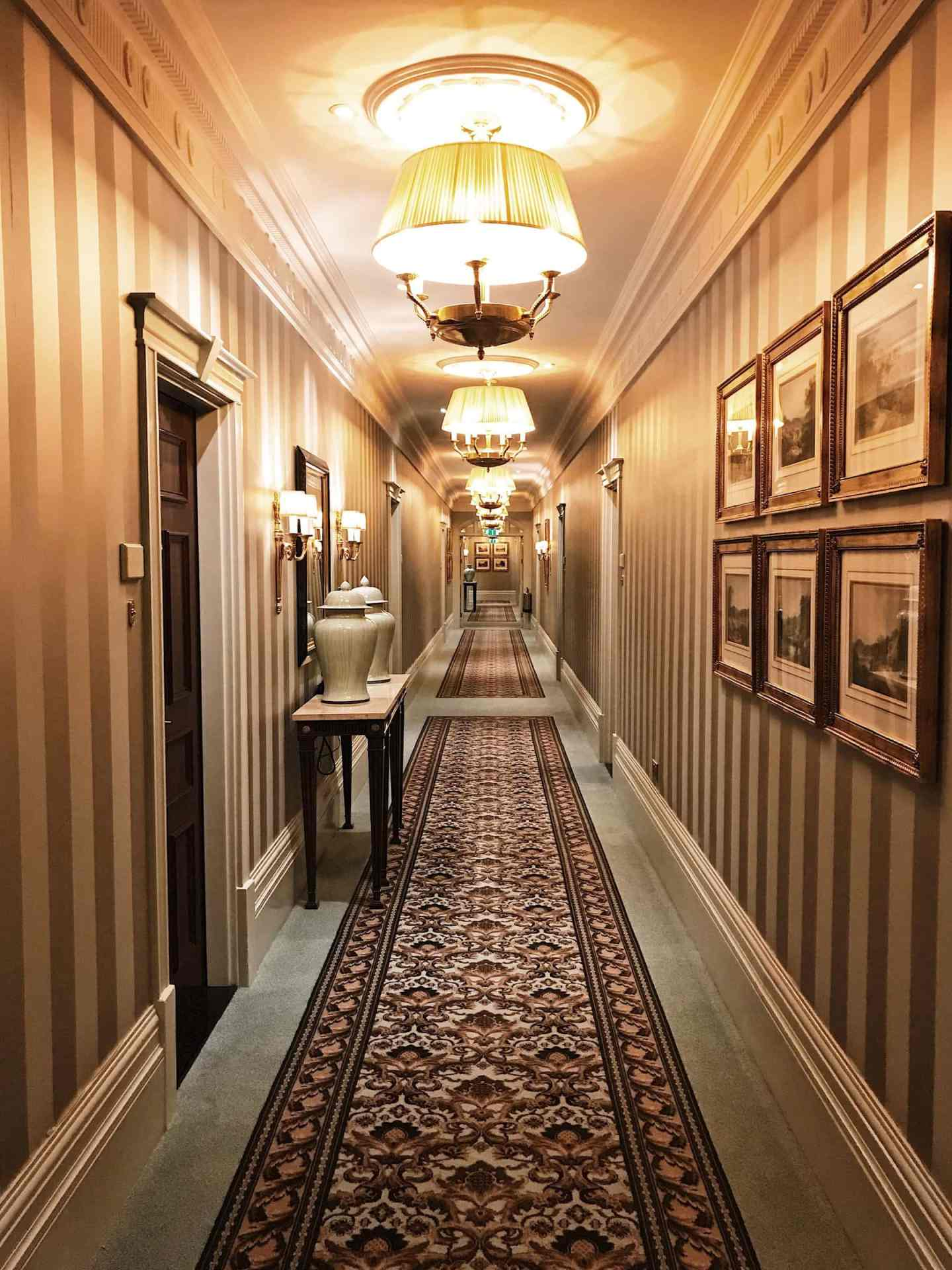The corridor leading to our room. I was expecting to see twin girls at the end aka The Shining!