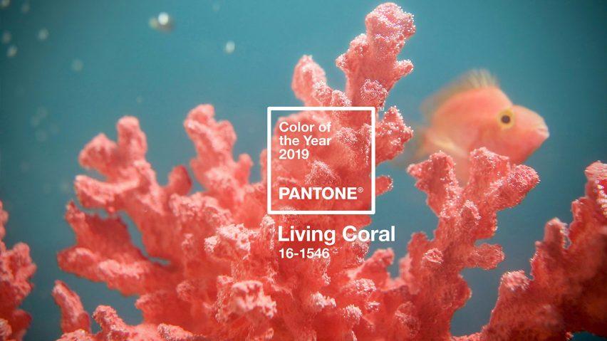 living coral pantone colour 2019