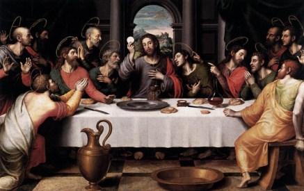 The Last Supper, by Juan de Juanes