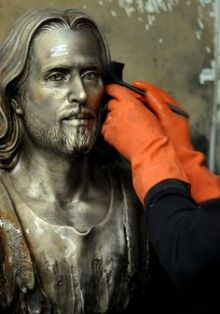 christ by brenda ahearn