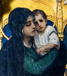 Viktor Vasnetsov, Mary and Child, St Volodymyr's Cathedral in Kiev.