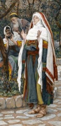 J. Tissot - the Virgin Mary praying the Magnificat