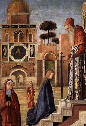 CARPACCIO, Vittore The Presentation of the Virgin (detail) 1504-08