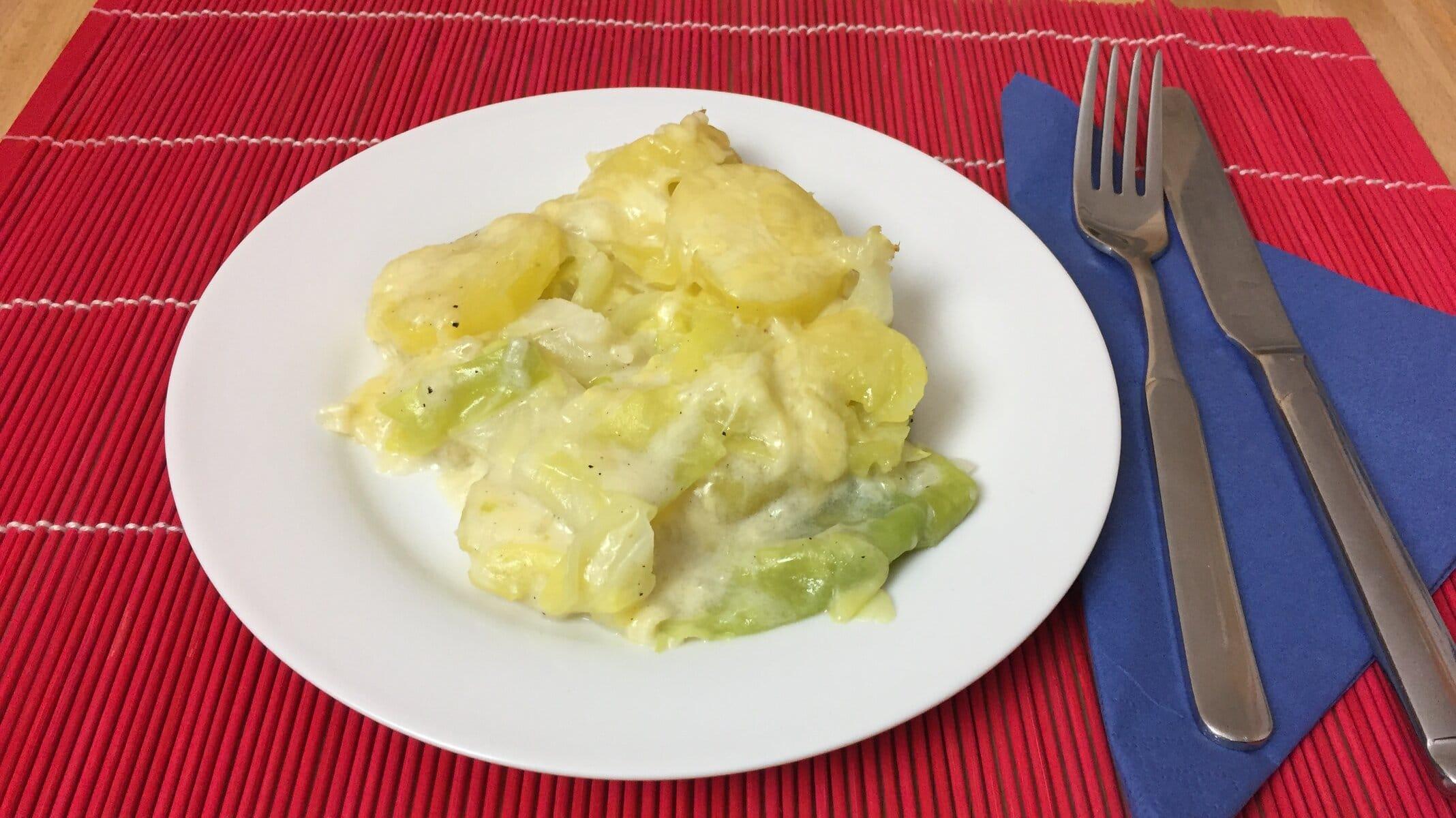 Beitragsbild Spitzkohl-Kartoffel-Auflauf
