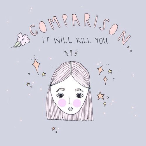 Image result for how to stop comparing myself to other women