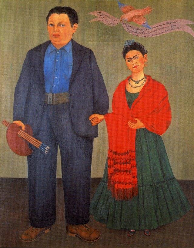 Frida Kahlo, Frida and Diego Rivera, 1931, San Francisco Museum of Modern Art