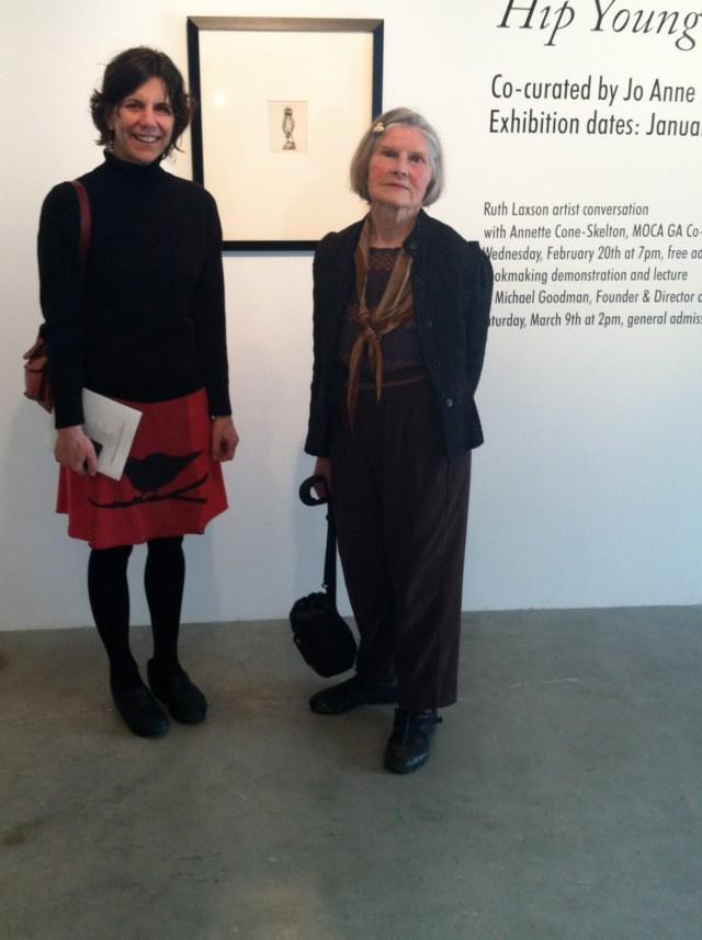 Meeting Ruth Laxson