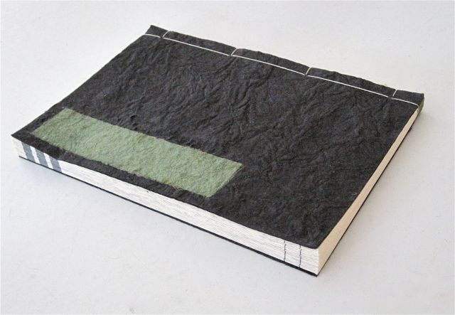 Patience is Everything, Japanese Stab Binding book, 2010