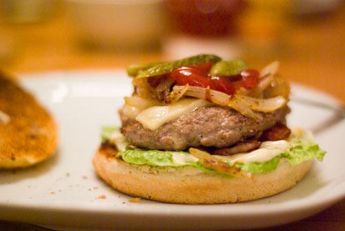 Burgers. It's a celebration!