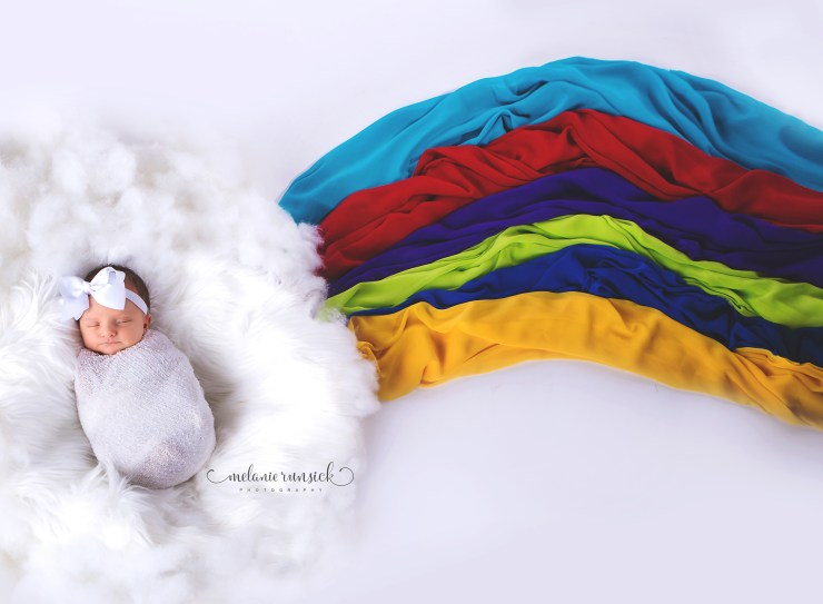 Jonesboro-Newborn-Photographer-Rainbow-Newborn-Session