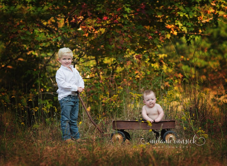 Fall portrait session Melanie Runsick Photography Jonesboro Arkansas