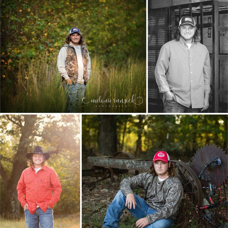 Riverside Senior Photographer Melanie Runsick Photography Jonesboro Arkansas Senior Guy Photographer